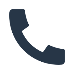 Blaues Telefon Icon