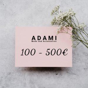 Produktbild Adami Mode Aachen Geschenkkarte 100-500€